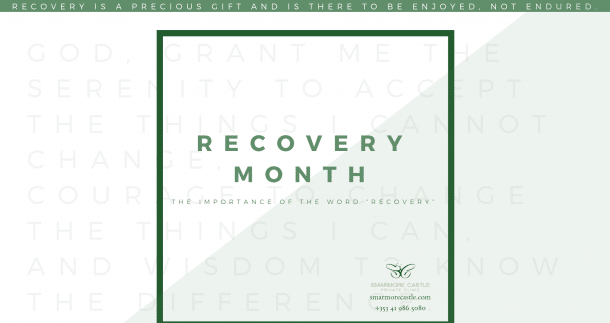 "The Importance of the Word ""Recovery"""