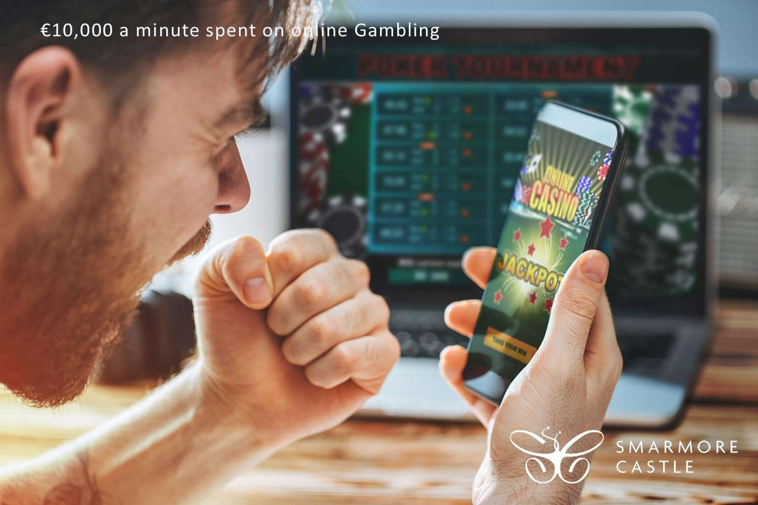 €10,000 a minute spent on online Gambling